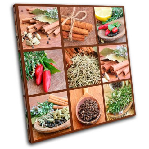 Spices Collage chili Food Kitchen - 13-0246(00B)-SG11-LO